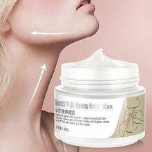 Goat's Milk Neck Cream Skin Care Anti wrinkle Whitening Moisturizing Firming Neck Care 100g Skin care Neck Cream For Women