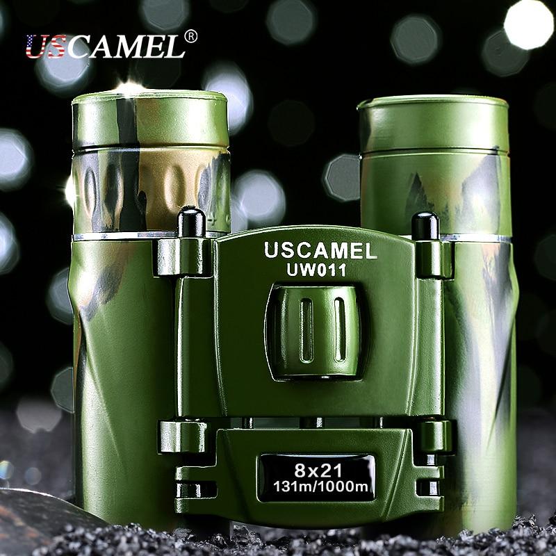 USCAMEL 8x21 Бінокль компактного - Кемпінг та піший туризм - фото 2