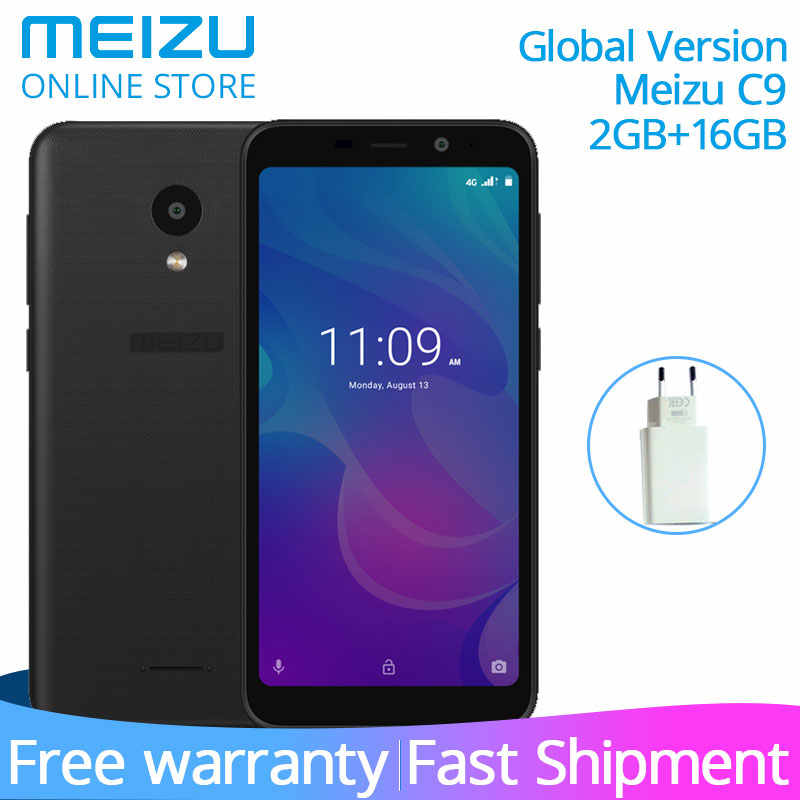 "Original Meizu C9 M9C smartphone Global Version Quad Core 2GB 16GB 5.45"" Full screen 16.0MP Camera 3000mAh Cell Phone"