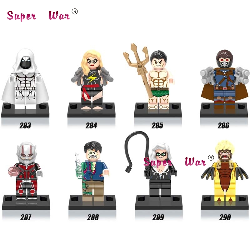 80pcs starwars superhero Movie Namor Sabretooth building blocks action bricks for girl boy house games kids children toys