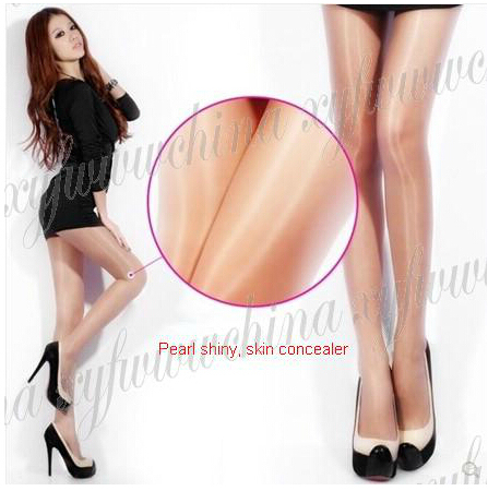 Sw02a170 15d Sheer Pantyhose Shiny And Oily Pantyhose