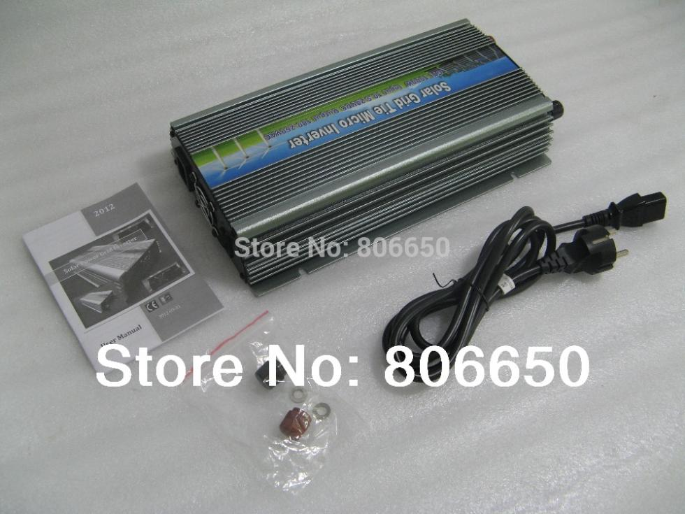 Eco 1000w Grid connected inverter 12V-220V  micro grid tie inverter with MPPT function high quality and free shipping ramasiddaiah pamidi fpga controlled grid connected inverter