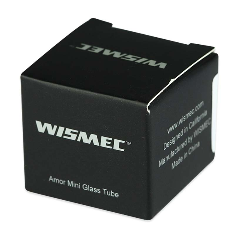 100% Original Wismec Amor Mini Replacement Pyrex Glass Tube Spare Part for Amor Mini 2ml Tank Atomizer & Reuleaux RX75 Kit