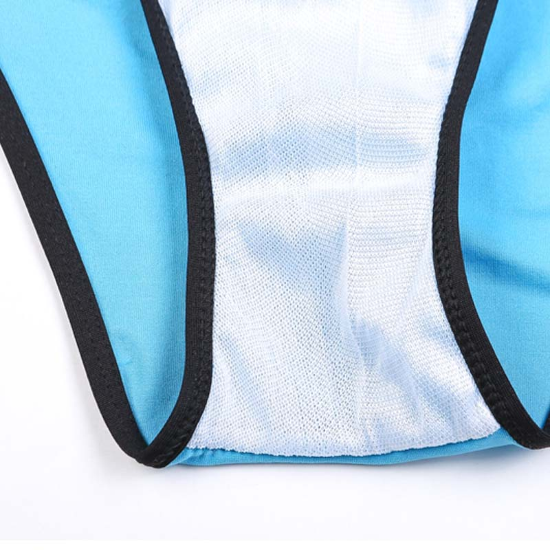 Mayo Yüksək Bel Yay Seksual Patchwork Bikini Qara Edge bikini - İdman geyimləri və aksesuarları - Fotoqrafiya 5