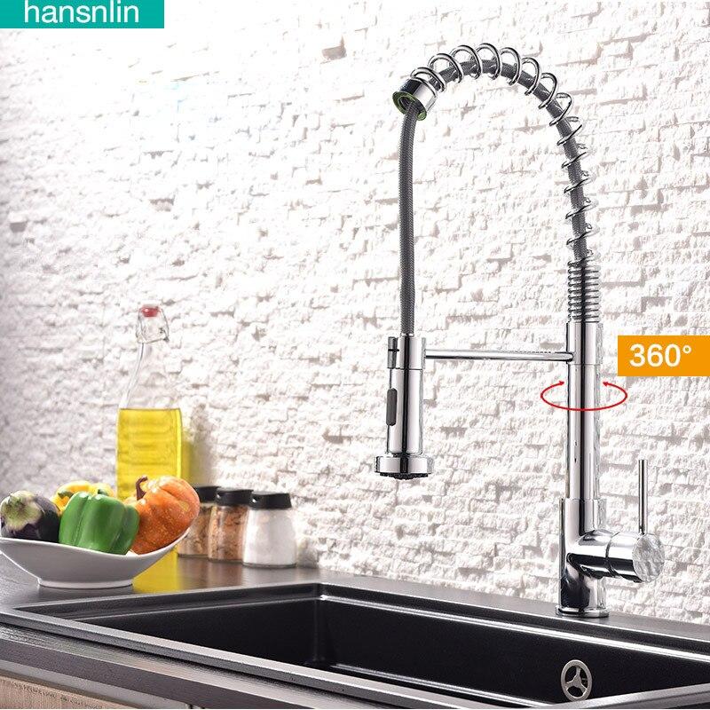 kitchen faucet torneira de cozinha telescopic sinkfaucet pull out ...