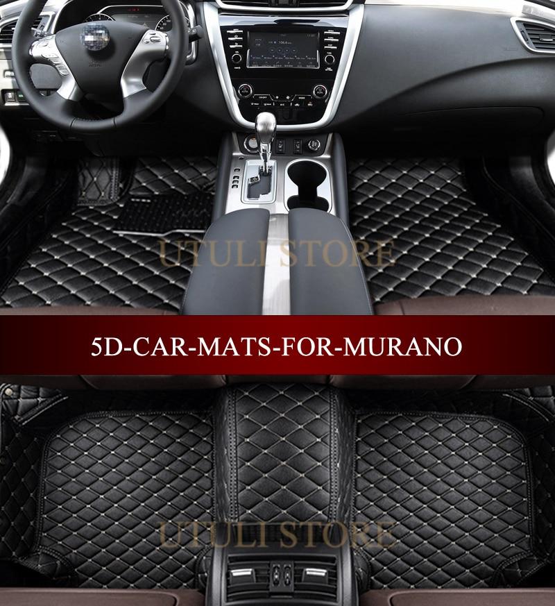 Suv Floor Mats >> Us 85 32 46 Off Leather Car Floor Mats For Nissan Murano Suv Cross Cabriolet 3d Custom Fit Car All Weather Carpet Floor Liners Foot Mats In Floor