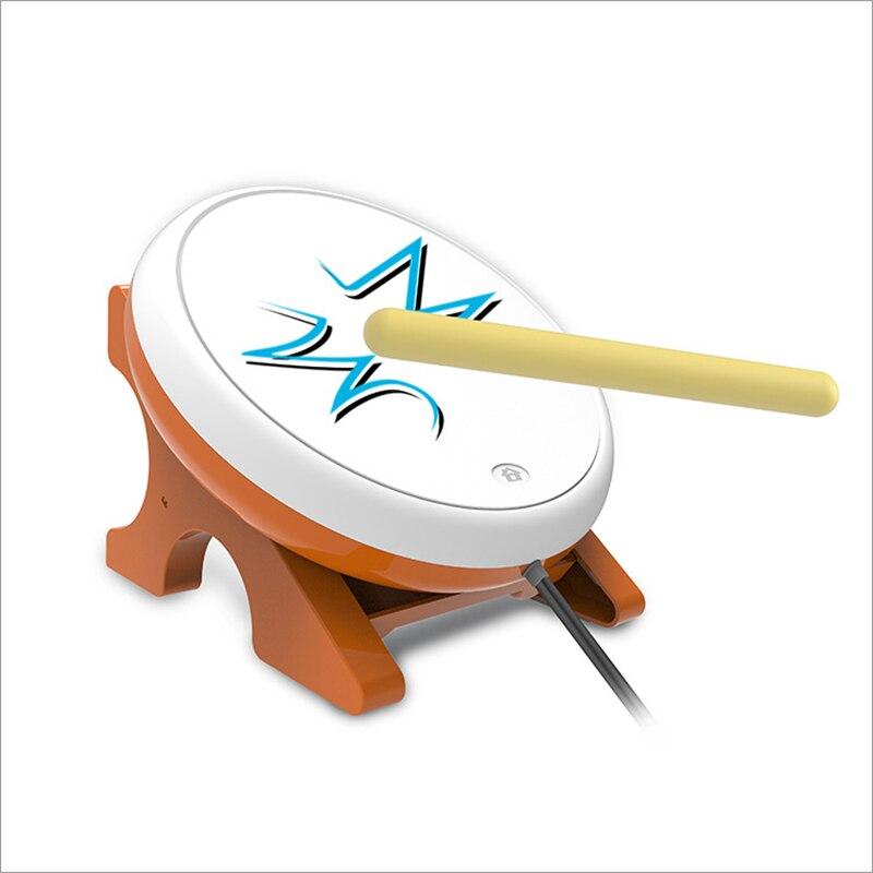 Jeu de câble universel Taiko cuir souple Taiko jeu de tambour pour PS4/SLIM/PRO tambour de jeu Joy-Con