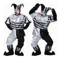 Горячая распродажа забавный клоун костюм взрослых клоун косплей костюм в более низкой цене