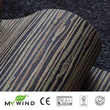 3D wallpapers designs vintage wall papers home decor for living room 2019 MY WIND grey Luxury Wallpaper sea grass grasscloth