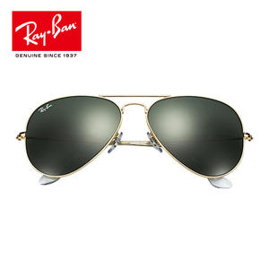 d3efb1dd05 0RB3026 UV Protection Men Women Sun Glasses Rayban Designer classic Pilot  Sunglasses