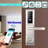 Практичный Водонепроницаемый интеллектуальные замка Разъем Smart замок прочный мобильное приложение дистанционного Wi Fi Bluetooth пароль Smart замк