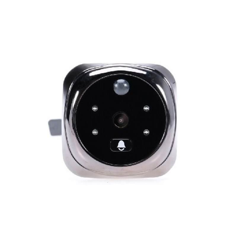 2017 Doorbell Video-Eye Peephole PIR Motion Detection 4.3inch LCD 0.3 Megapixels Camera IR Night Vision 32 Rings Max 32G Russian