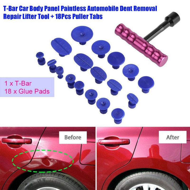 Home 10pcs Auto Sag Repair Tool Dent Repairer Easy To Use Auto Body Dent Repair Hand Tools Set Easy To Repair