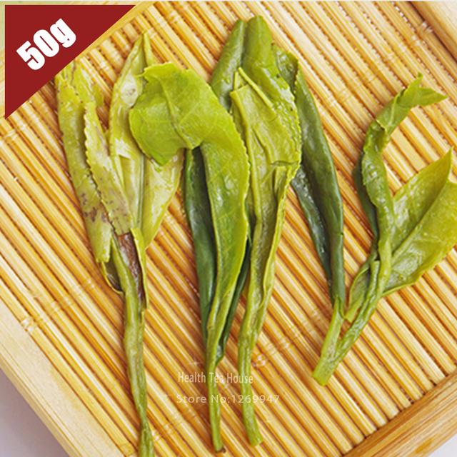 Hot 2016 Spring Chinese Longjing Dragon Well Tea, Organic Green Tea Long Jing 50g