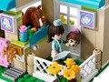 Nueva Original 10169 BELA Amigos de las Niñas Pet Hospital Ensamblar Ladrillos Bloques Huecos Fija juguetes Compatibles