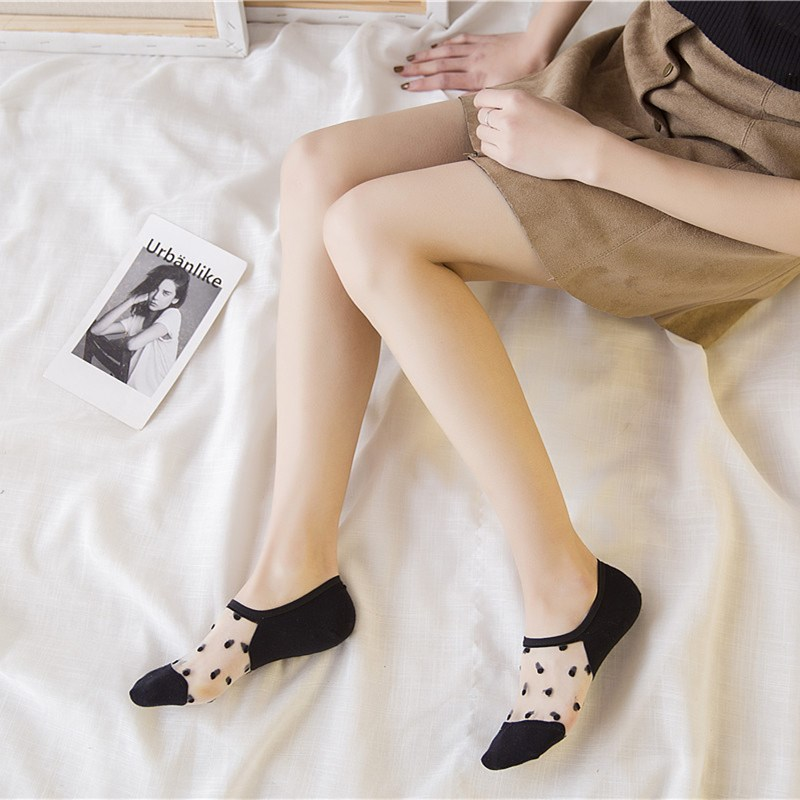 4e93618c71 Detail Feedback Questions about Cute No Show Socks Transparent 5 ...