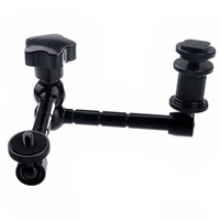 Hot 11 Arm Articulating Magic Added Aluminum For Mounting HDMI Monitor LED Light LCD Video Camera
