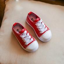 53e46dbf9ad Niños blanco sneakers primavera otoño flexible niños niñas pu moda Zapatos  niñas zapatos casual UE 21