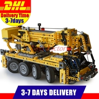 DHL Free LEPIN 20068 Technic Mechanical Series Classic Crane Educational Building Blocks Bricks Toys Model Clone 8421 1884pcs
