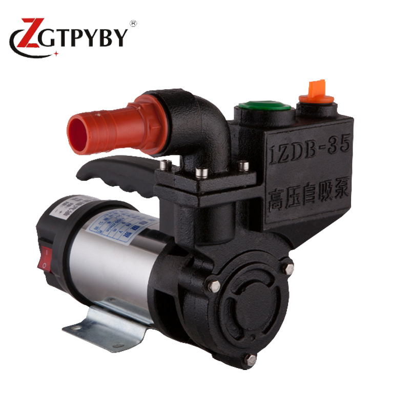 DC Self-priming Pump 12V/24V/48V DC Garden Pump vacuum priming pump 2017 factory price self sucking pump 0 75kw self priming water pump for high rise wells in the river lake 220v household jet garden pump 4 5m3 h big capacity