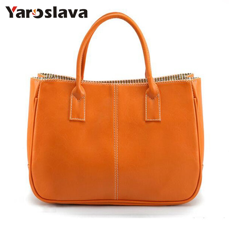 2018 Hot Sale Women Bag Fashion PU Leather Women's Handbags Top-Handle Bags Tote Women Shoulder Messenger Bag   LL423 hot sale 2016 france popular top handle bags women shoulder bags famous brand new stone handbags champagne silver hobo bag b075