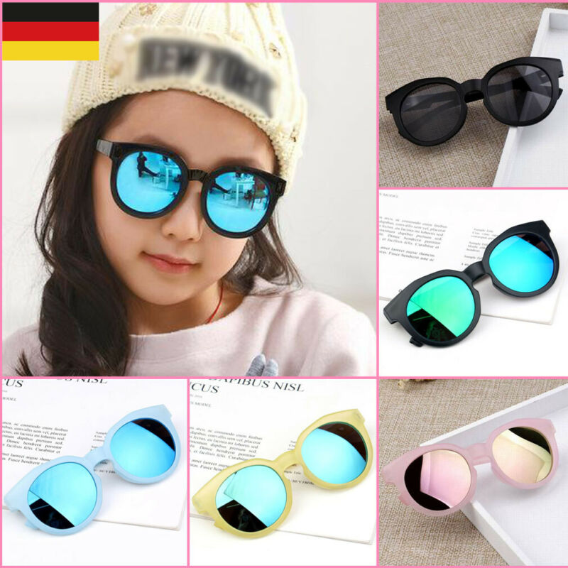 Pudcoco Children Sunglasses Child Kod Outdoor ANTI-UV Sunglasses Eyewear Boy Girl Eye Glasses Shades Goggles Protection Outdoor