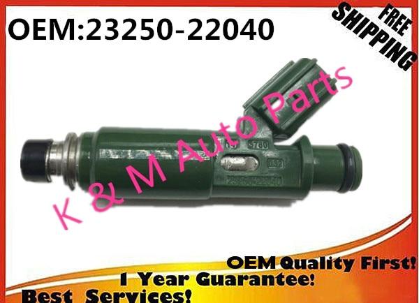 Prix pour 4x haute qualité nouveau Injecteur de Carburant buse 23250-22040 2325022040 23250-0D040 POUR pour Corolla, Matrice, Celica 1.8 1.8L 1 1ZZFE 1ZZ T-