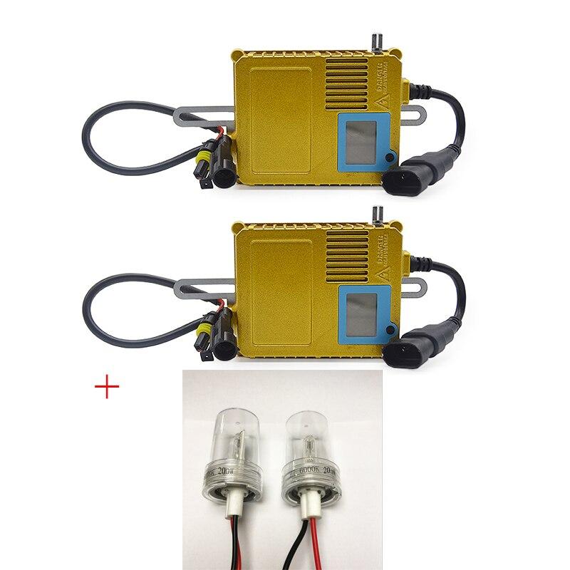 DUU 200 w Ballast HID Luce Allo Xeno lampadina 12 v H1 H3 H7 H11 6000 k Auto Xeno Del Faro Della Lampada schermo di visualizzazione dello schermo Regolabile Potenza