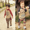 Осень утолщение комплект по уходу за детьми мужской одежды 6 - 12 месяцев 0 - 1 - 2 лет c108