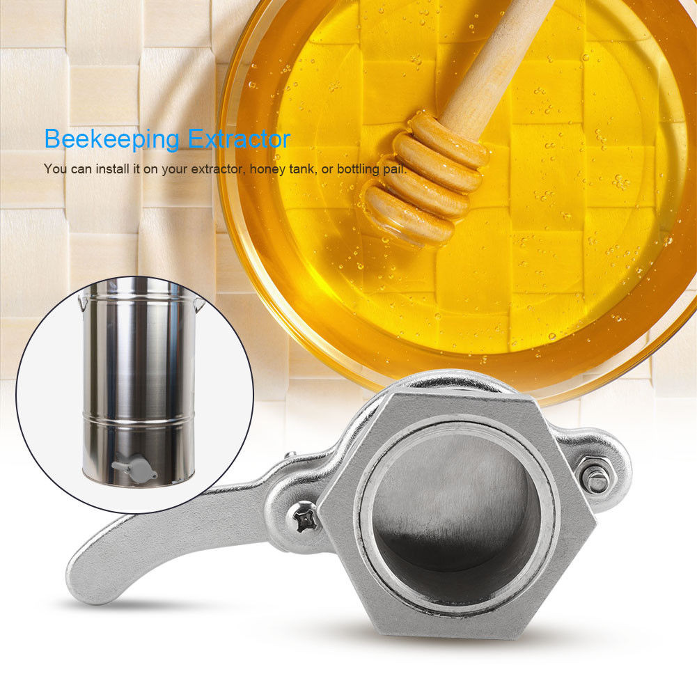 Image 2 - beekeeping supplies Stainless Steel Honey Tap Gate Valve Beekeeping Extractor Bottling Tool SilverEquipconvenient  product-in Beekeeping Tools from Home & Garden