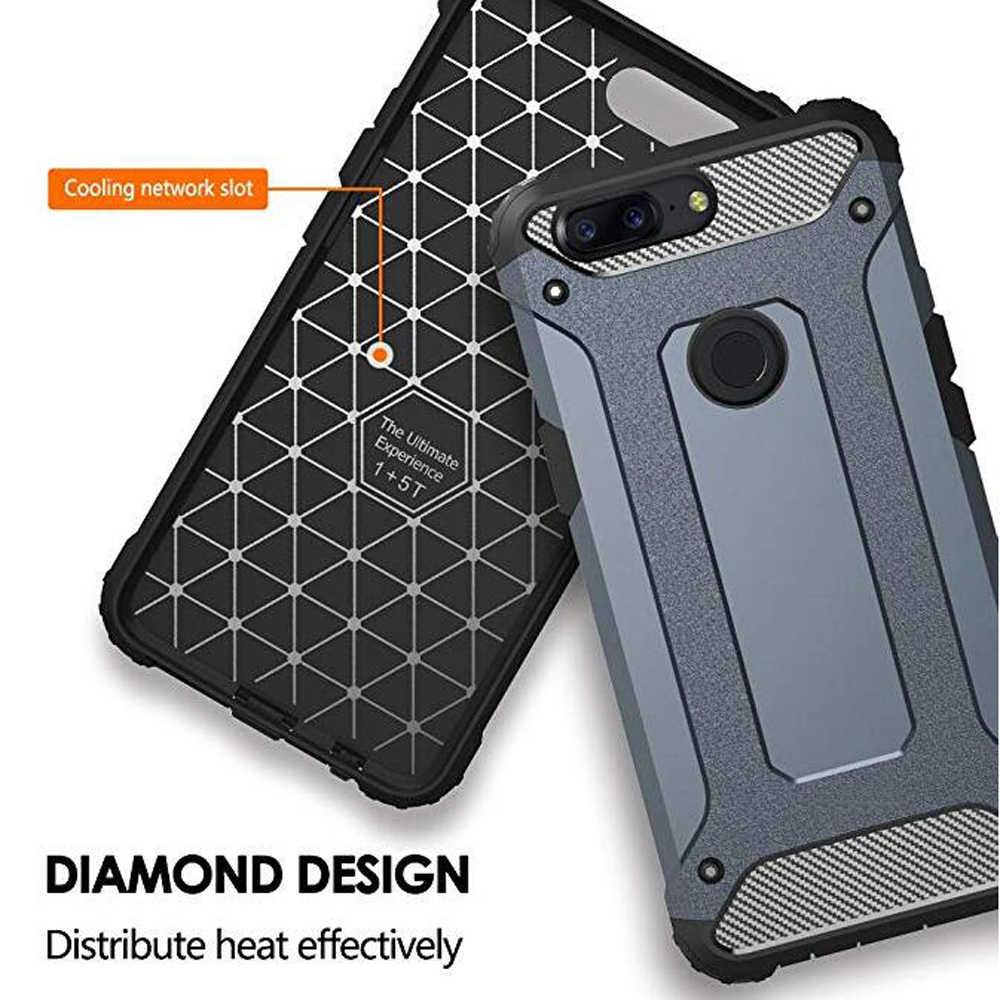 מקרה עבור Huawei Honor 7A עמיד הלם שריון קשיח מחשב סיליקון מקרה עבור הכבוד 7A DUA-L22 5.45 ''RU רך TPU טלפון Case כיסוי
