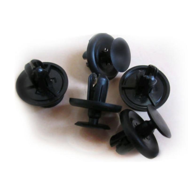 100pcs/Set Rivets Clips For car Bumper Fender Car Clips Mixed Plastic High Quality Durable Popular Accessories