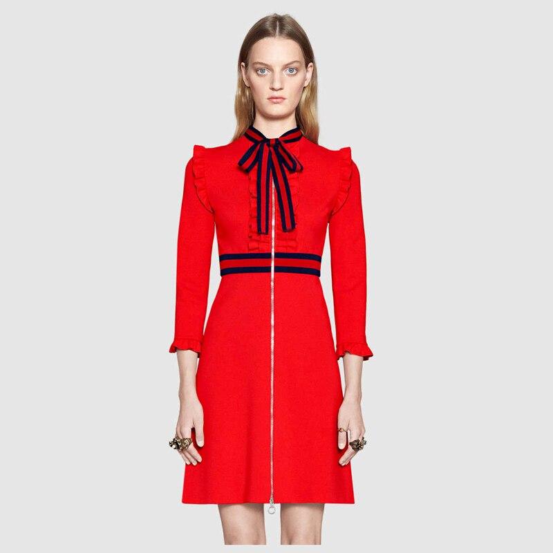 Ecombird Σέξυ φόρεμα με φόρεμα με κόκκινο - Γυναικείος ρουχισμός - Φωτογραφία 2
