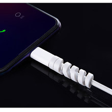 2PCS USB Kabel Protector Telefon Zubehör Für Iphone 6 S Fall Für Iphone 8 Plus 7plus IphoneX XS max XR 6 7 8 Plus 4 4S 5 5S SE(China)