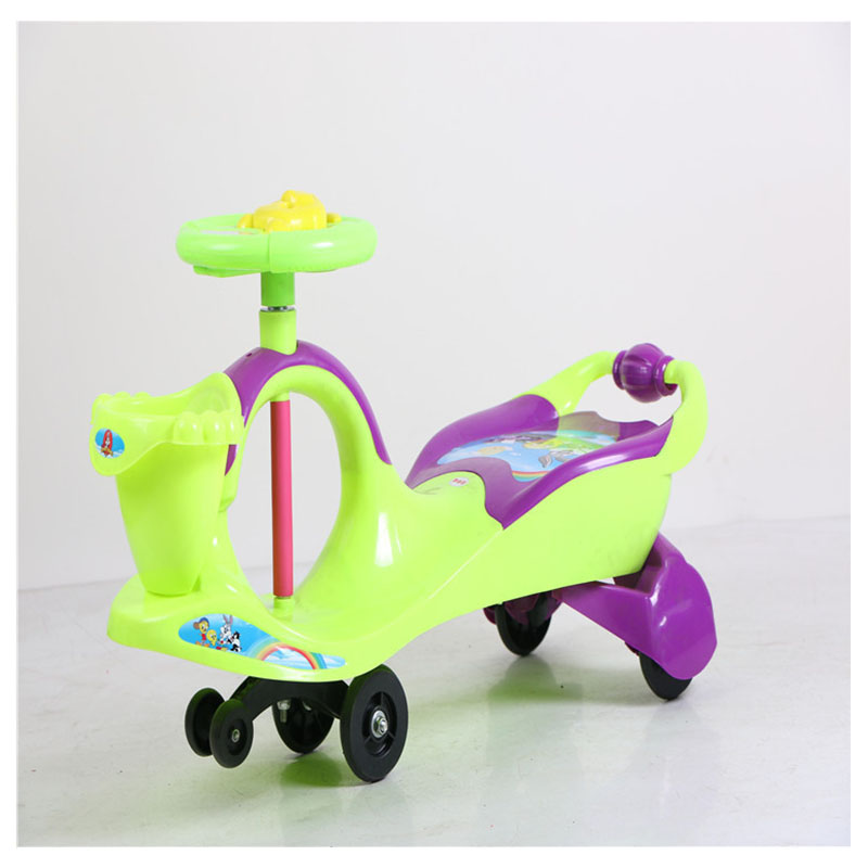 4 Colors Baby Stroller Children Car Walkers with Wheels Children Trolley Slippery Car Skateboard Baby Walker Scooter free shipping new children twist car with music baby walker a push rod stroller scooter