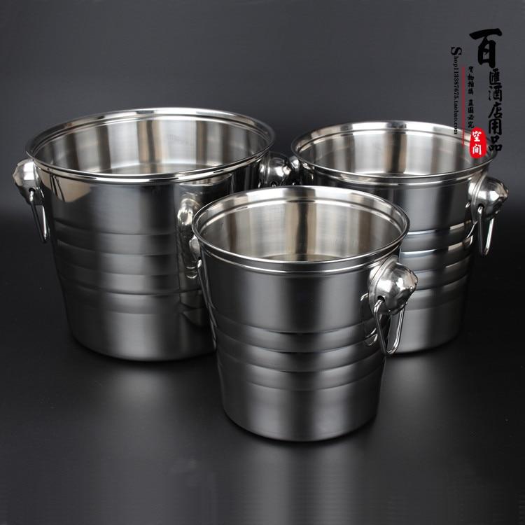 Stainless Steel Bucket Ice Bucket