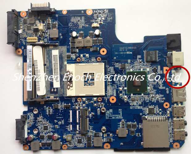 For Toshiba satellite L600 L640 L645 laptop Motherboard Integrated A000073390 DA0TE2MB6G0  stock No.999