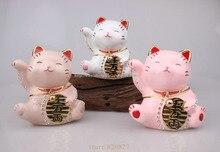 Hinged Jeweled Trinket Box Cute Japan Lucky Cat Money Lucky Cat Chinese Japanese Statue Lucky Cat Collectible Figurine