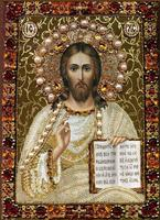 Mosaic Picture Diy Diamond Painting Religion Jesus Reading The Bible Cross Stitch Crafts Diamond Embroidery Painting