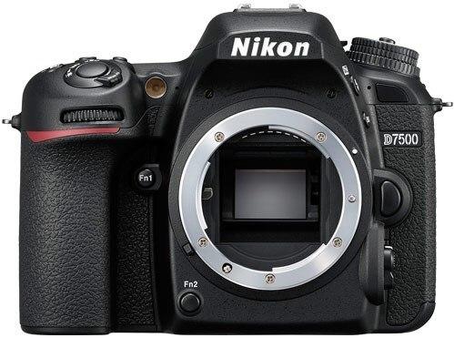 Solo cuerpo de cámara Nikon D7500 DSLR 20.9MP