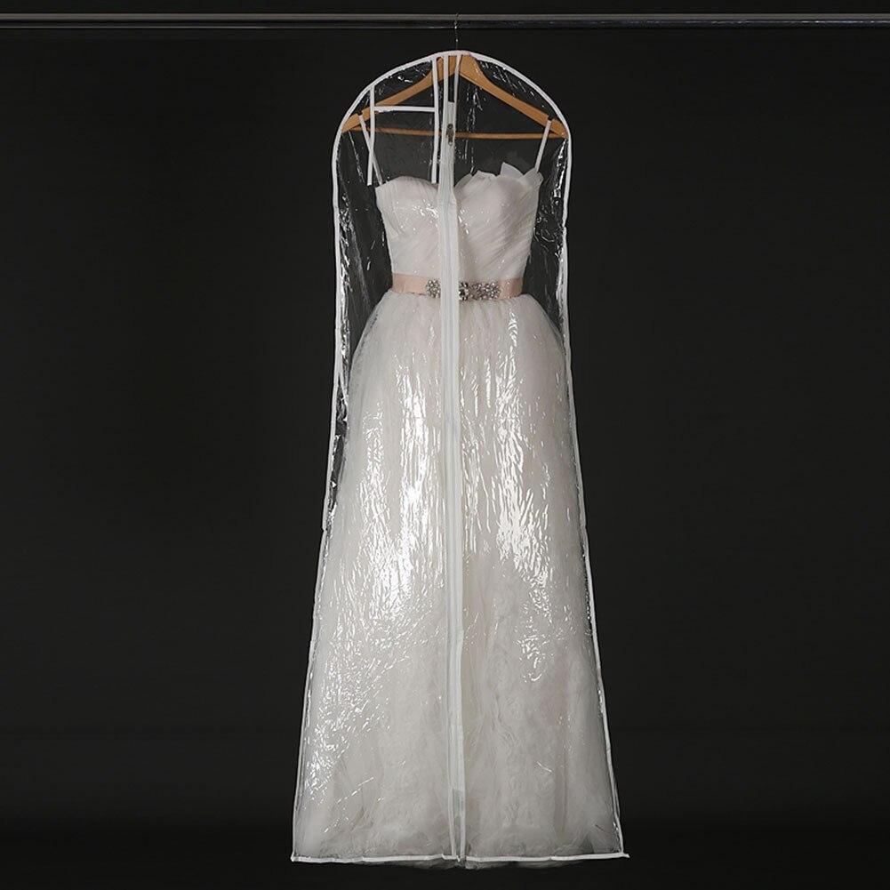 Cover Storage-Bags Garment Wedding-Dress Clear Large Dustproof Bridal-Gown 170/180CM