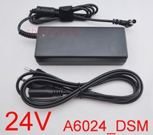 1 stks 24 v 2.5a 3a adapter 60 w voeding a6024_dsm voor samsung soundbar hw h550 hw h551hw j450 hw j551 hw j651 + ac kabel