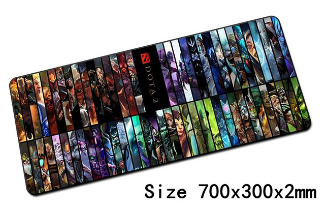 game dota 2 padmouse 700x300mm pad to mouse notbook computer mousepad hot sales gaming mouse pad gamer to laptop mouse mat