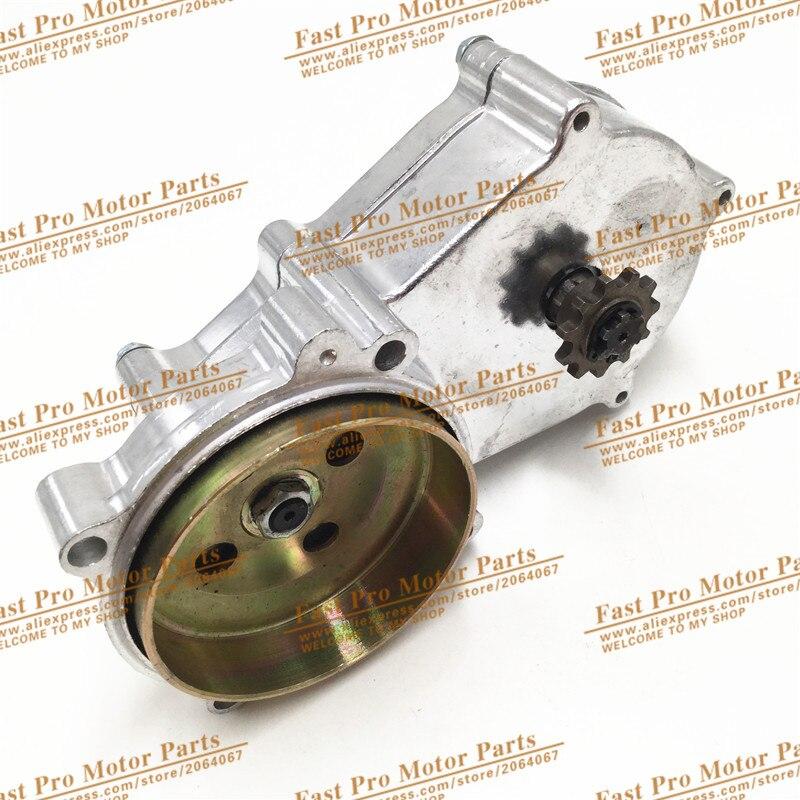 Double brin chaîne de polissage Réduction Gear Box pour 2 stoke mini dirt bike, Quad utilisation 11 dent 49CC Moteur pièces de rechange