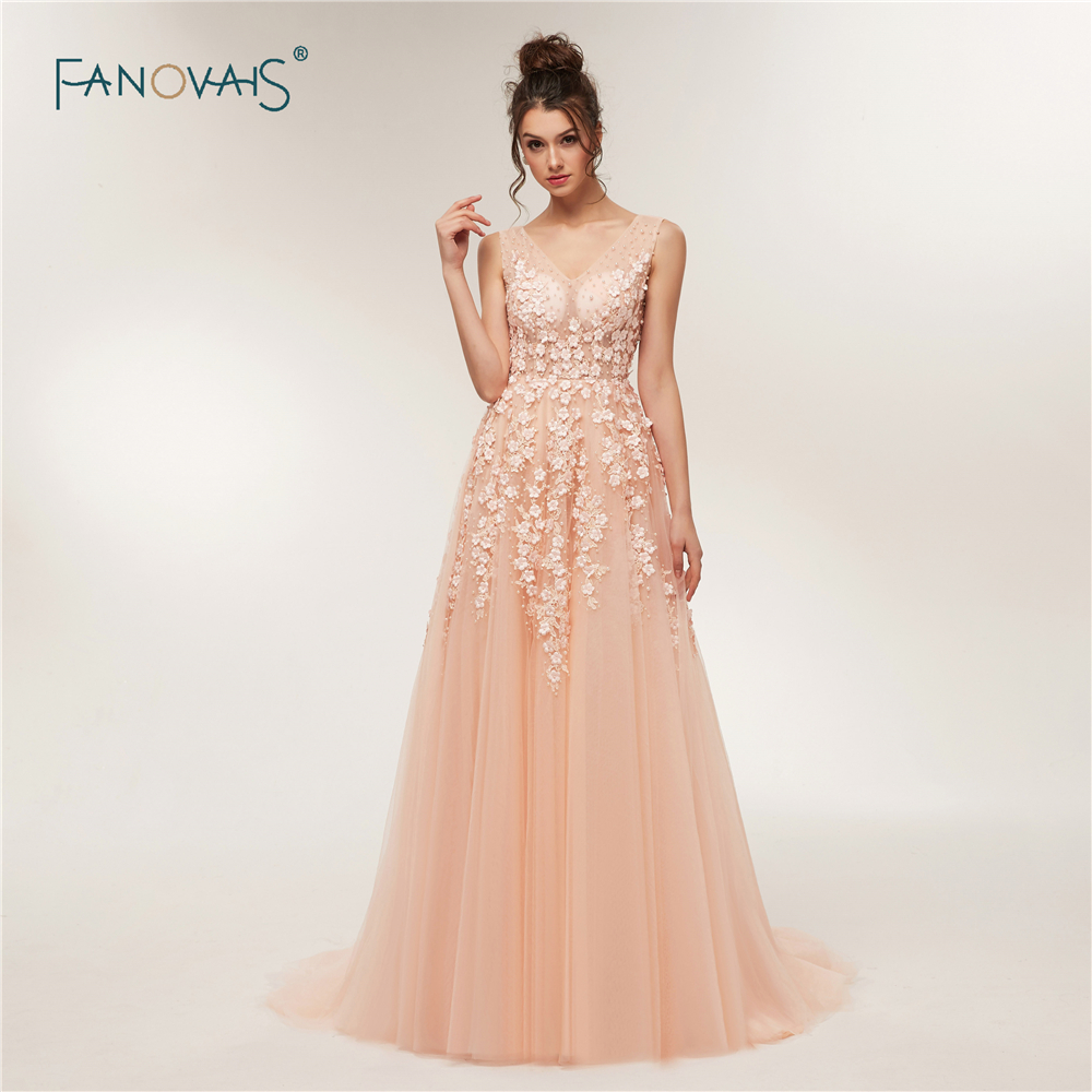 f4f305c78d US $270.0 |Real Sample Sexy V Back Luxury Floral Crystal Pearls Beaded Long  Evening Dress 2019 Prom Dresses robe de soiree longue ASAE09-in Evening ...