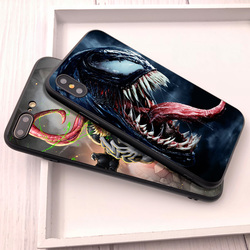Venom For Fundas iPhone XS Max Shell Cover For Case iPhone 8 Plus XR Coque for Case iPhone 5 5S 6 7 8 Plus SE X XR Phone Cover 1