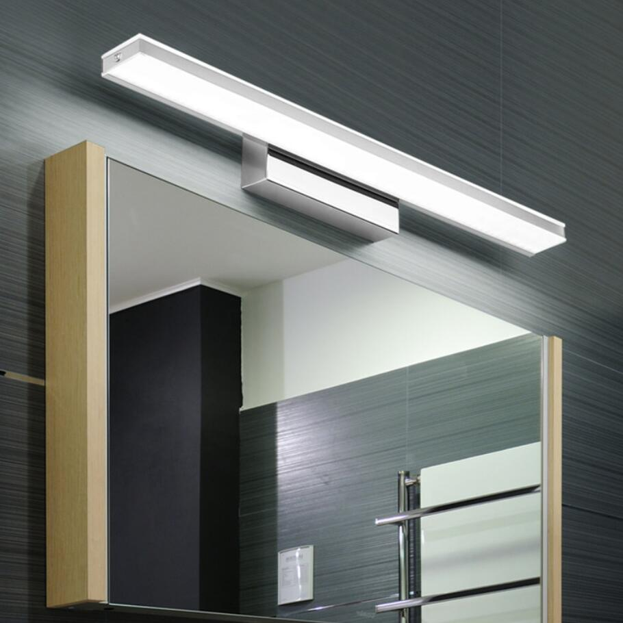 Fashion Led Lamps Waterproof Led Mirror Front Lamp High Power Wall Lamp  Bathroom Shower Room