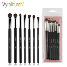 Vytalbrush Pro 7Pcs Makeup Brushes Set Blush Eyeshadow Eyeliner Lip Powder Foundation Make up Brush Beauty Cosmetic Tools pro fan brush 7pcs bamboo handle makeup eyeshadow blush concealer brushes set powder foundation facial multifunction beauty tool