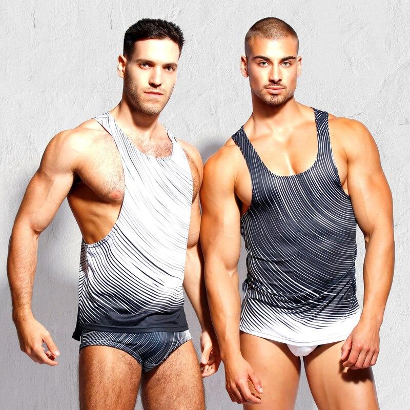 Taddlee Brand Mens Tank Top Camisetas Sexy Diseñado 3D Impreso Top - Ropa de hombre - foto 4