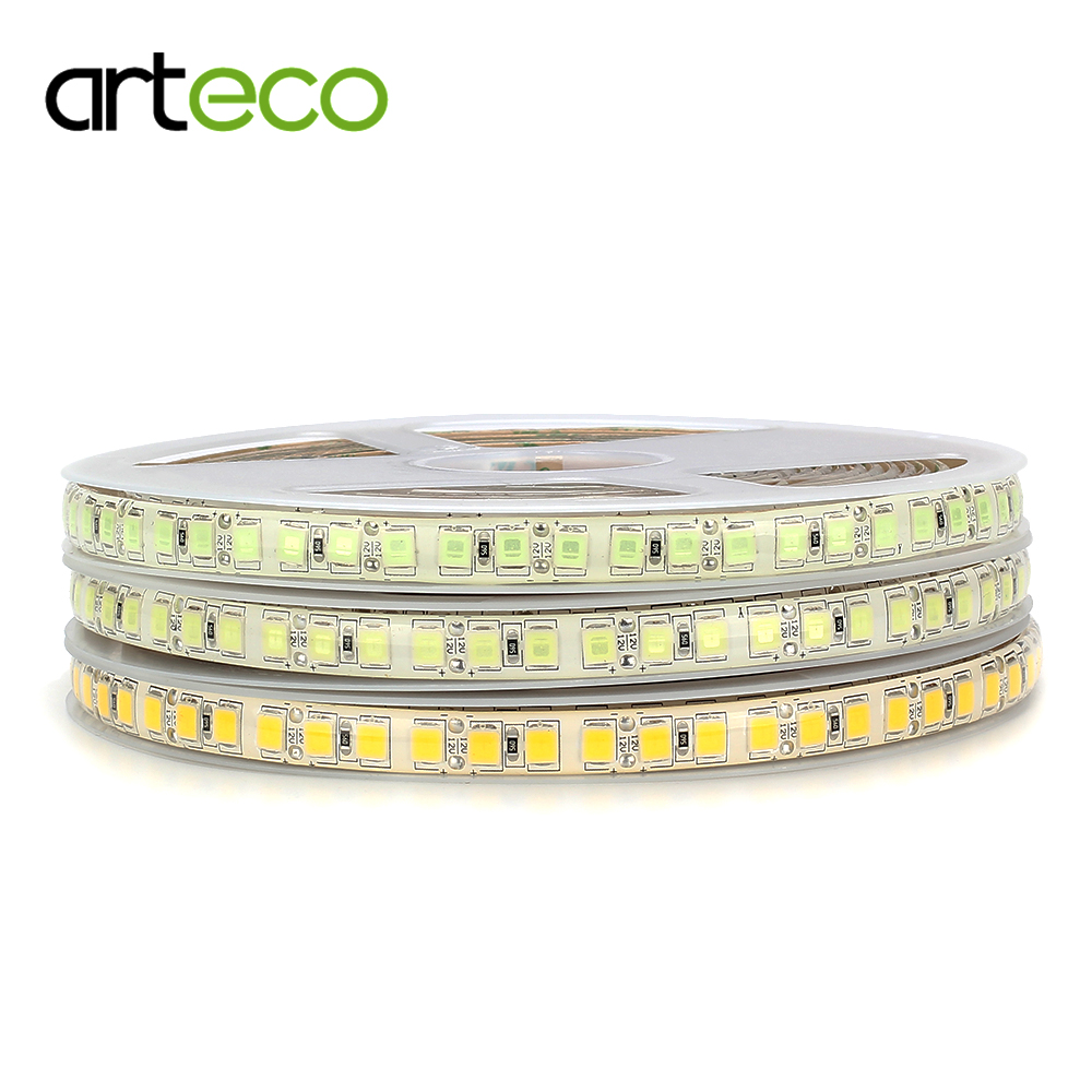 High Brightness LED strip 5054 600LEDs 5M 12V LED strip flexible light 120 led/m , ice b ...